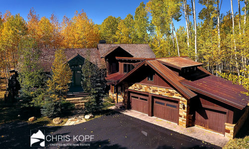 Sold Luxury Crested Butte Home Skyland