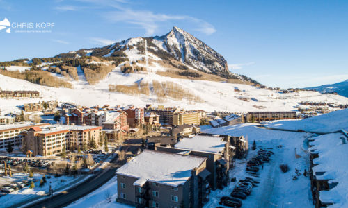 New Listing Mt Crested Butte Condo Chateaux 204B