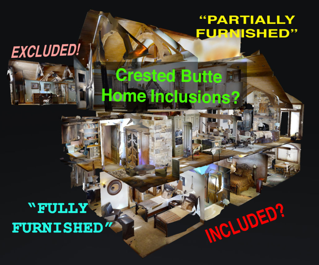 Crested Butte Home Inclusions?