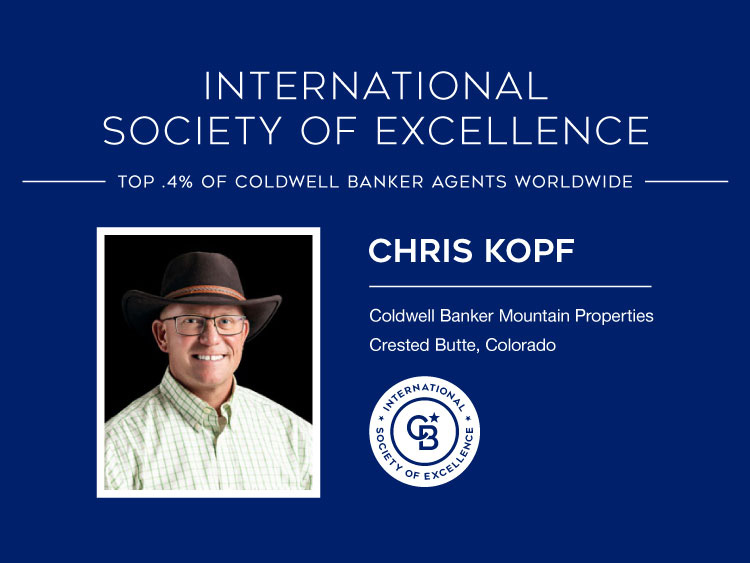 CBMP Broker Kopf Earns Elite International Award